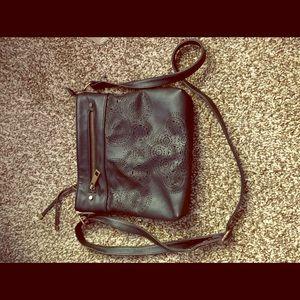 A crossbody purse